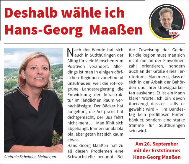 Anzeige Scheidler